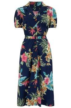 Rock N Romance - Charleen Navy Dress