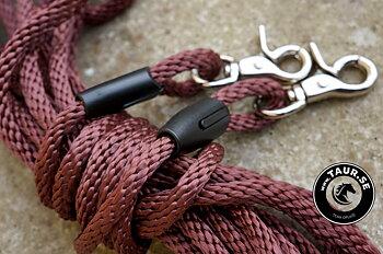 Långtygel Opux® (för markarbete), brun/silver, 10 m