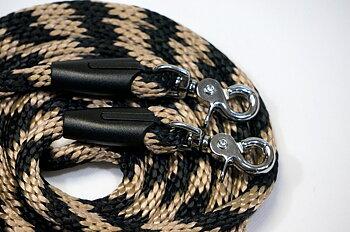 Reptyglar Opux®, 12 mm, svart/beige, 300 cm