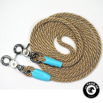 Reptyglar Opux®, 8 mm, beige/babyblue, 230 cm (ponny/island)