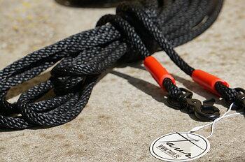 Långtygel Opux® (för markarbete), svart/röd, 8 m