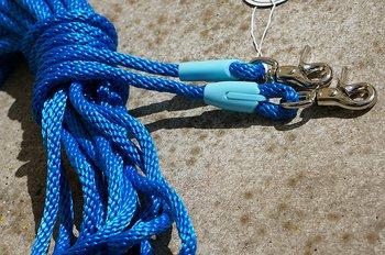 Långtygel Opux® (för markarbete), blå/silver, 12 m