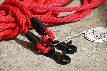 Långtygel Opux® (för markarbete), röd/svart, 8 m