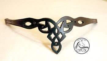 Opux® Pannband 'Lotus', svart