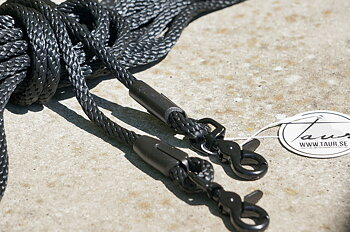 Långtygel Opux® (för markarbete), svart/svart, 10 m