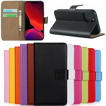 PU-läder / skinn plånboksfodral - alla modeller Iphone Samsung Huawei OnePlus