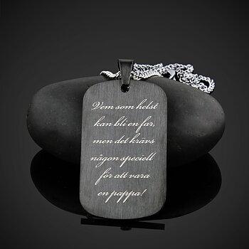 Nyckelring / Halsband Grey