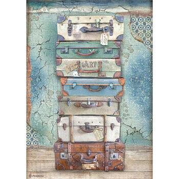 Rispapper A4 Stamperia - Atelier Luggage