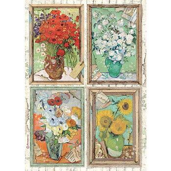 Rispapper A4 Stamperia -Atelier Van Gogh