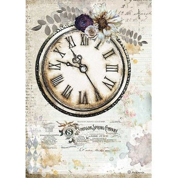 Rispapper A4 Stamperia - Romantic Journal clock