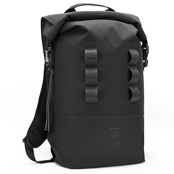 Chrome Urban Ex 2.0 Rolltop 20L Black Backpack