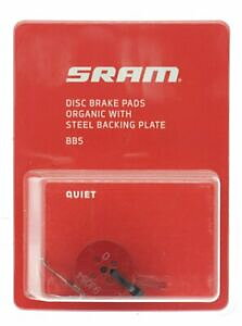 AVID Disc brake pad Set for BB5 Organic pad Steel plate