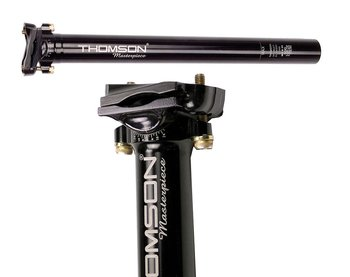 Thomson Masterpiece Seatpost Black 27,2mm, 330mm, Inline