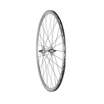 Halo Aerotrack Front Wheel Silver 32H