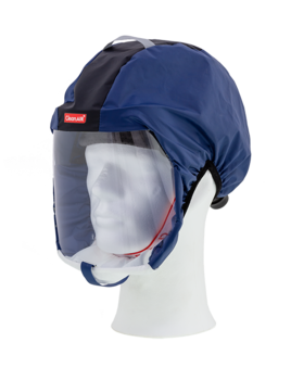 Protective hood CA-1 blue