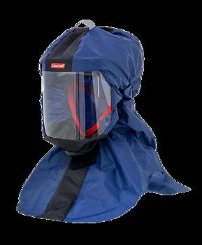 Protective hood CA-2 blue