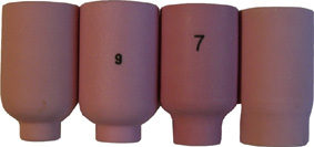 Gaslens alumina cup #5 Linde 17-18-26