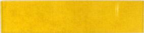 Yellow plastic lens 100x16mm