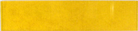 Yellow plastic lens 110x16mm