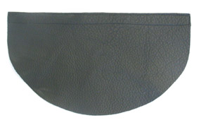 Neck protection in leather