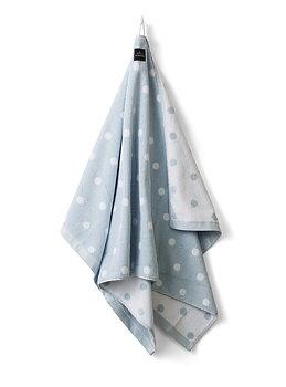 DUSCHHANDDUK PRICKIG - Ljusblå hängare