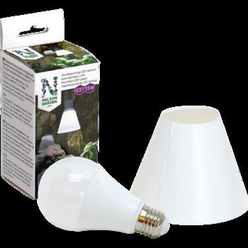 Växtbelysning LED-lampa 15W med skärm