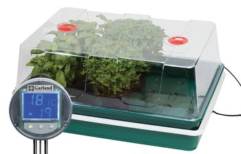 Minidrivhus med värme och termostat Proffs