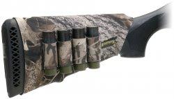 Kolvskydd för hagelgevär med patronhållare Camo