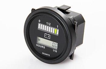 Timräknare - Batteriindikator - 12-72v