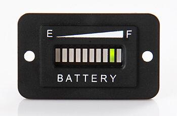 Batteriindikator - 12-24v