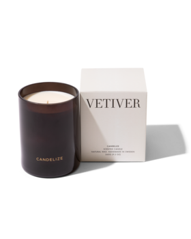 Candelize scented candle: Vetiver
