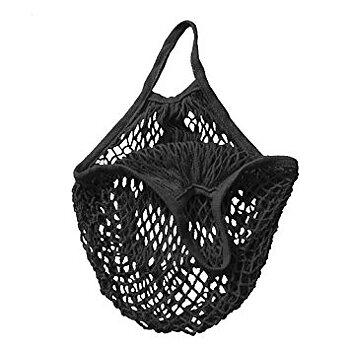 Gröna Gredelina net bag black