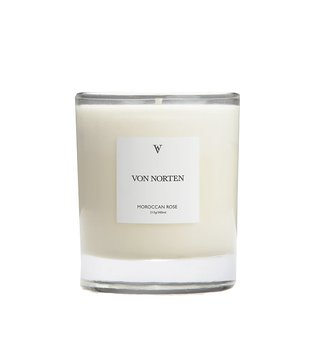 Von Norten Moroccan rose scented candle