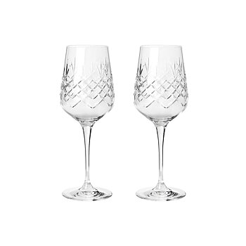 Frederik Bagger Crispy Madame White Wine glasses (set of two)