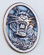 Beslag Brons Tiger