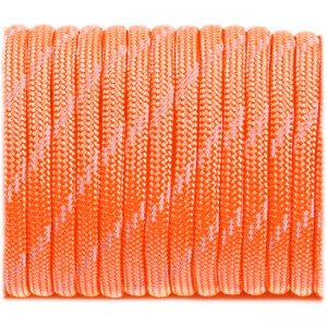 Paracord 550 - Reflective Neon Orange