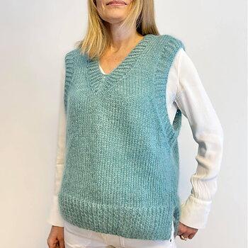 Sandra Väst i Mohair/ silke