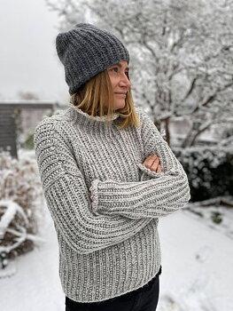 """""""Vinter"""" Tröja med krage"""