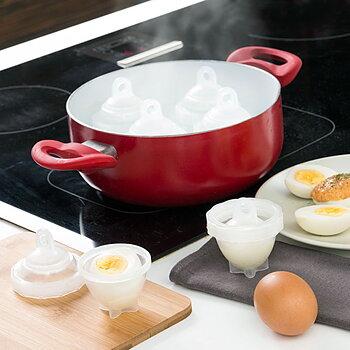 Set för Äggkokning - Koka Ägg Utan Skal