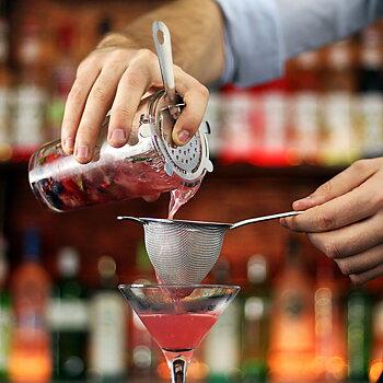 Finmaskig Cocktailsil