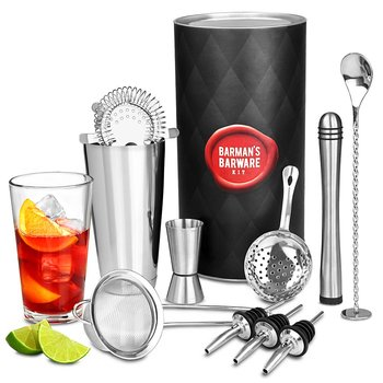 Cocktail-set Deluxe med Boston Shaker