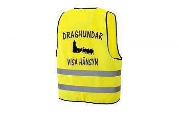 Reflexväst Draghundar Visa Hänsyn