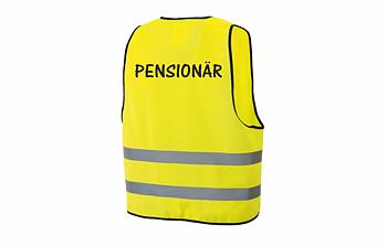 Reflexväst Pensionär