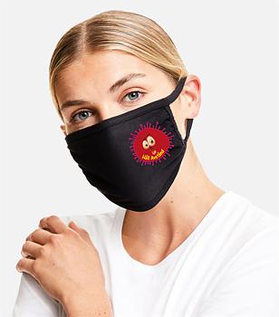 Munskydd  Håll Avstånd virus