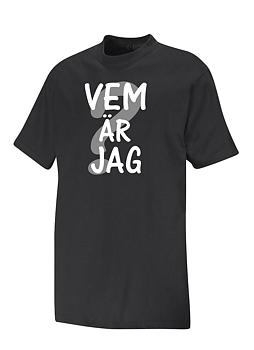 T-shirt Vem Är Jag