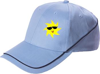Keps Sol blå