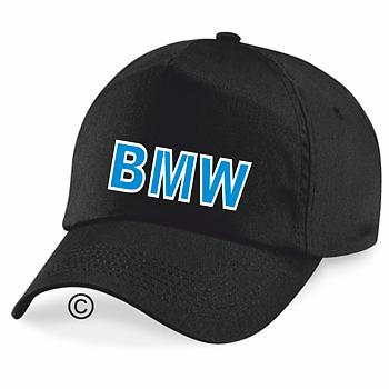 Keps svart BMW