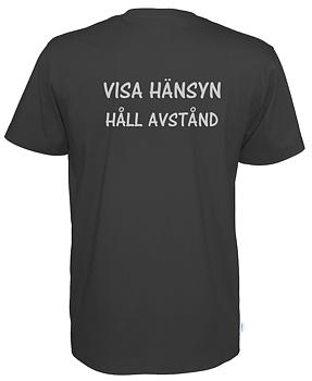 T-shirt  VISA HÄNSYN  HÅLL AVSTÅND