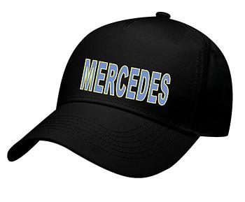 Keps svart Mercedes