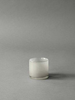 Tell Me More Candleholder Lyric Warm Grey XS
